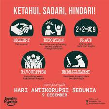 deni ramdhan en hariantikorupsi say no to fraud