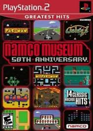 ps2 namco museum 50th 16 spiele galaga
