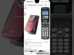 Panasonic SA6 Gsm on it card - YouTube