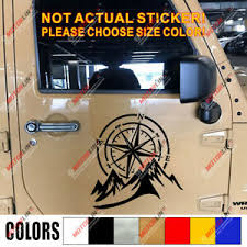 4x4 Off Road Decal Sticker Mountain Compass Car Vinyl Fit For Jeep Ford Chevy B Ebay