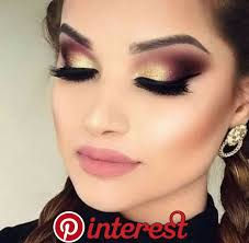 trendy prom makeup ideas for brown eyes