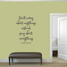 Shop Don T Worry About Anything Wall Decal 26 Wide X 36 Tall On Sale Overstock 12850411