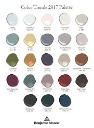 benjamin moore 2017 color palettes you