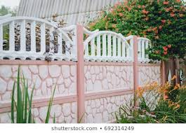 Concrete Fence Images Stock Photos Vectors Shutterstock