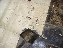 asbestos floor tile is it safe to