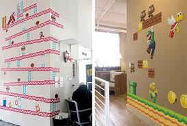 Geek Weekly Blik Wall Decals Recreate Super Mario Bros Donkey Kong Gadizmo Com