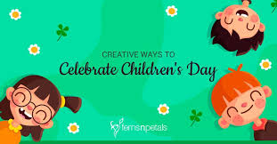 World children's day was first established in 1954 as universal children's day and is celebrated on 20 november each year to promote international togetherness, awareness among children worldwide. Creative Ways To Celebrate Children S Day Ferns N Petals
