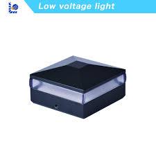 China Loyal 12v Garden Light Safer Last Longer Energy Saving Metal Fence Fit 3 5inch 90 90mm Post Cap Low Voltage Lighting China Low Voltage Light Fence Light