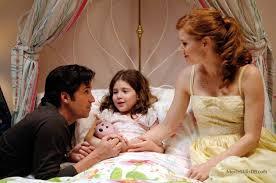 Enchanted - Publicity still of Amy Adams, Patrick Dempsey & Rachel Covey    Giselle enchanted, Enchanted movie, Disney enchanted