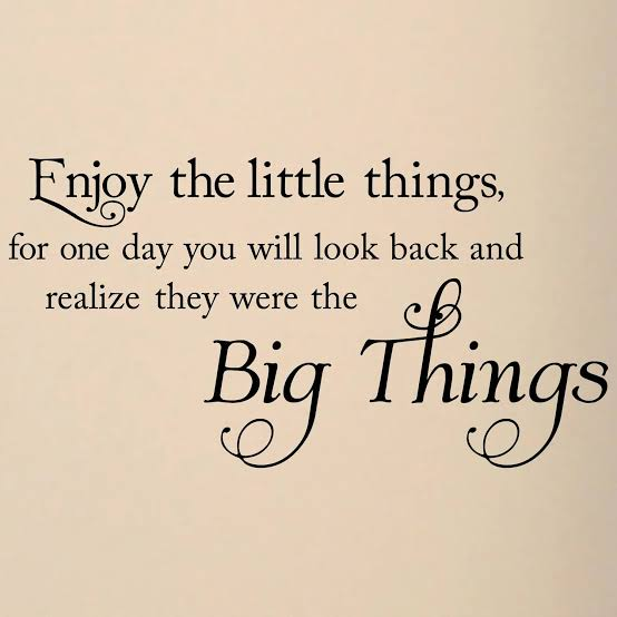 """Image result for appreciate little things"""""""