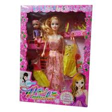 barbie doll toys set at rs 100 piece