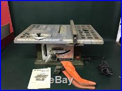 Manual Table Saw Fence