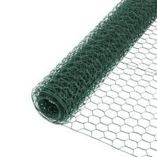 Tenax 2 Ft X 25 Ft Green Poultry Hex Fence 060789 The Home Depot
