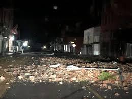 Strong storms strike Helena-West Helena, Arkansas over Easter weekend