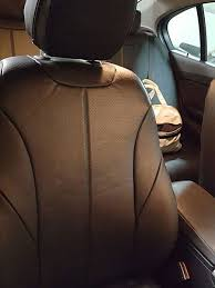 bmw 3 series leather effect car seat covers