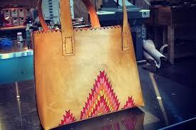 make a leather purse or messenger bag