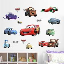 Diy Movie Happy Cars Cartoon Game Kids Room Decor Wall Stickers Removable Child Nursery Funny Decor Sticker Fans Gifts Sticker Remover Wall Stickerdecorative Wall Stickers Aliexpress