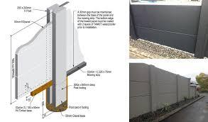 Ezfenz Lightweight Autoclaved Aerated Concrete Panel Fence System Blog Productspec Concrete Fence Panels Fence Wall Design Autoclaved Aerated Concrete