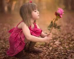 صور اطفال وورود