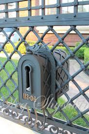 Wall Fence Mailboxes Olegshyshkin