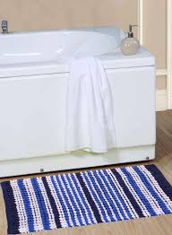 bathroom rugs bathrooms red and striped