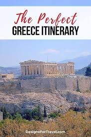 the perfect greece itinerary 7 days 2