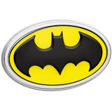 Batman Car Emblem 3d Black Yellow Chrome Dc Comics Automotive Decal Sticker Badge