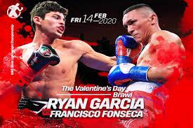 Max Boxing - News - Ryan Garcia fights Francisco Fonseca Feb.14