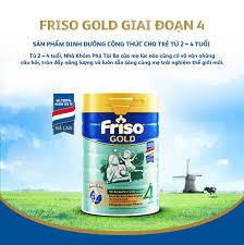Sữa Bột Friso Gold 4 Cho Trẻ Từ 2-4 Tuổi 900g + Tặng bộ đồ chơi xe ...