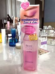 biore eye and lip makeup remover review