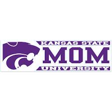 Wincraft Kansas State Wildcats 3 X 10 Mom Window Decal