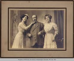 Pat Prior, Effie May Norris and daughter known as ColleThe Prior Trions of  ,n.d. - Prior and Norris Vaudeville Troupe Photographs and Ephemera,  1886-1915 - University of Washington Digital Collections