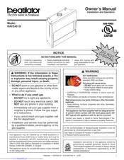 heatilator rave4013i manuals