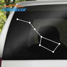 13 10cm Big Dipper Constellation Car Window Decals Art Vinyl Laptop Decor Stickers Removable Black White L743 Car Stickers Aliexpress