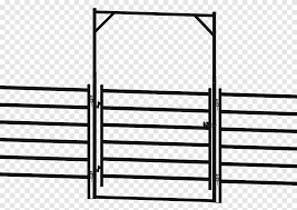 Hereford Cattle Fence Gate Room Little Buster Toys Fence Angle Fence Png Pngegg