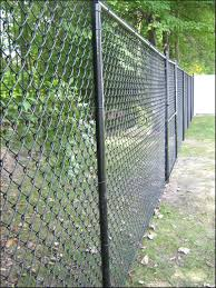 6 Foot Black Chain Link Fence Black Chain Link Fence Backyard Fences Chain Link Fence