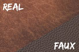 real leather vs faux leather know the