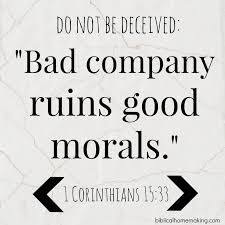 Be careful whom you follow (Biblical Homemaking) | Good morals, Words,  Inspirational quotes