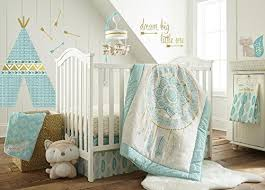 Levtex Baby Little Feather Aqua 5 Piece Buy Online In Bahamas At Desertcart