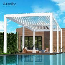 remote controlled aluminium louvre roof