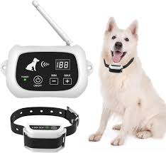 Amazon Com Utopb Wireless Dog Fence Electric Wireless Dog Fence System For Dog Pets Dog Containment System Boundary Container With Ip65 Waterproof Dog Training Collar Receiver Utopb Pet Supplies