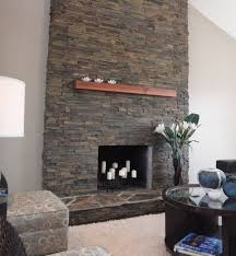 40 stone fireplace designs from classic