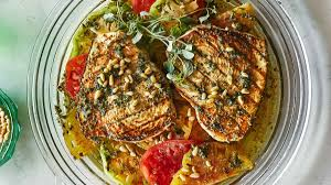 Grilled Swordfish with Tomatoes and ...