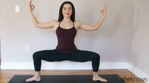 yoga poses to help with holiday stress