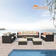 ovios patio furniture set big size