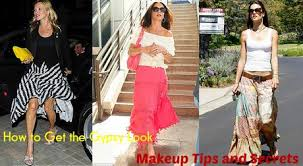 how to get the gypsy look makeup tips