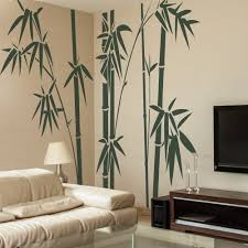 Geckoo Home Decor Family Bamboo Wall Decals Living Room Wall Sticker X Large Dark Green Wall Decals Living Room Wall Stickers Living Room Tree Wall Decor