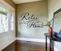 Relax You Re Home Welcome Wall Art