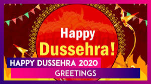 Happy Dussehra 2020 Wishes ...