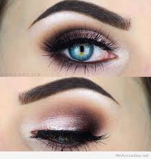rose burgundy and black eye makeup